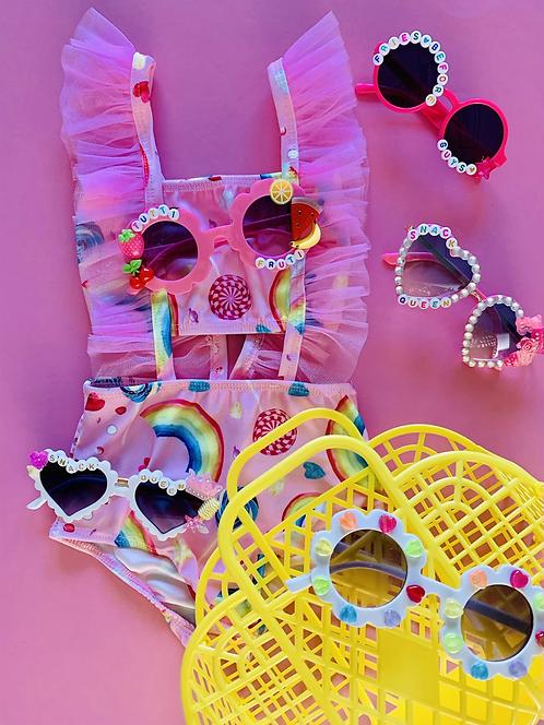 Candy Girl Ruffle Swimmie