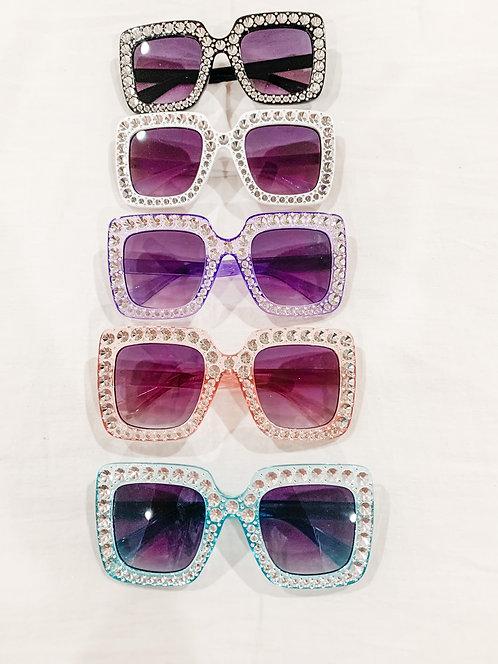 Bejeweled Square Frame Mini
