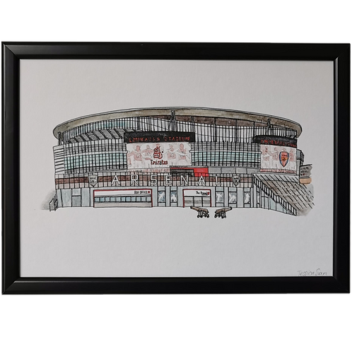 Arsenal Football Ground Print - The Emirates Stadium