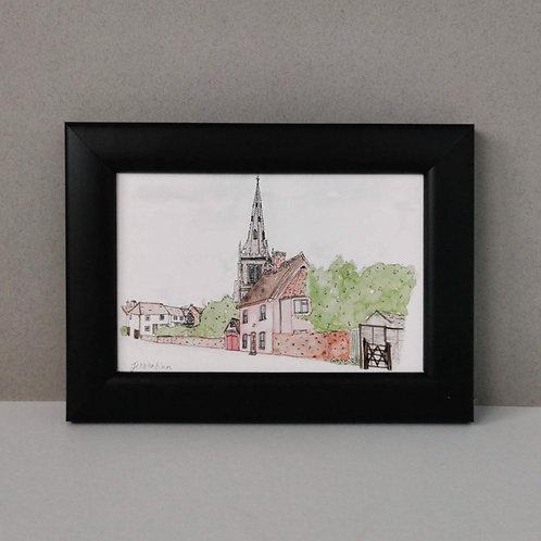 Framed Print of Thaxted - Thaxted Parish Church