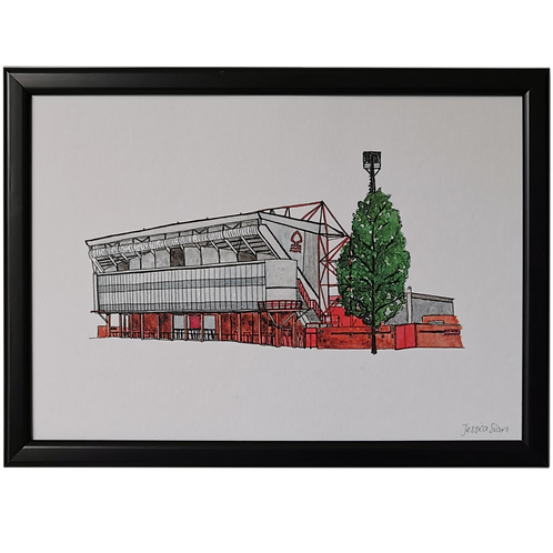Nottingham Forest Football Stadium Print - The City Ground