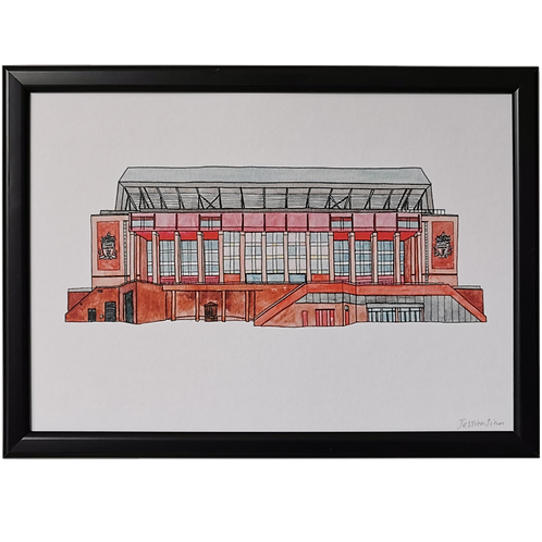 Liverpool Football Ground Print - Anfield Stadium