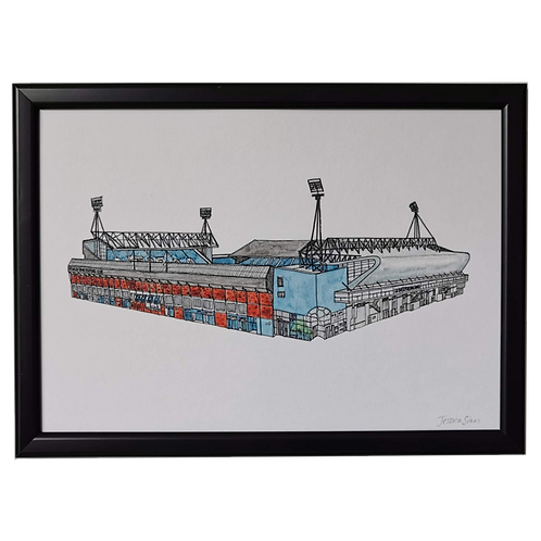 Ipswich Town Football Ground Print - Portman Road Stadium