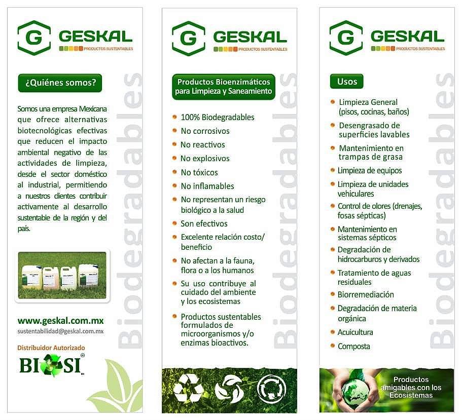 Productos bioenzimáticos para impiezay saneamiento