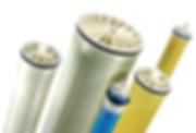 Membranas, ultra baja presión, de alto rendimiento, de nano filtración