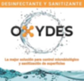 Desinfectante grado alimenticio OXYDES