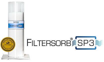 Filtersorb SP3 es un polímero catalítico, Inhibe las incrustaciones de calcio y magnesio