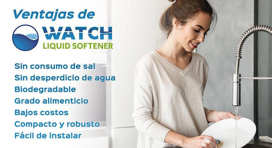 ventajas uso watch liquid softene