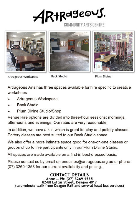 Artrageous Venue Hire Flyer.jpg