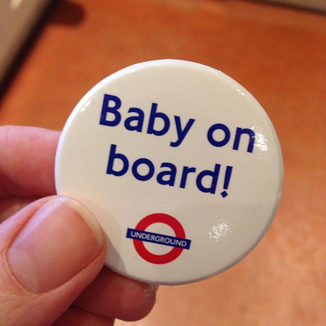 Baby on board!