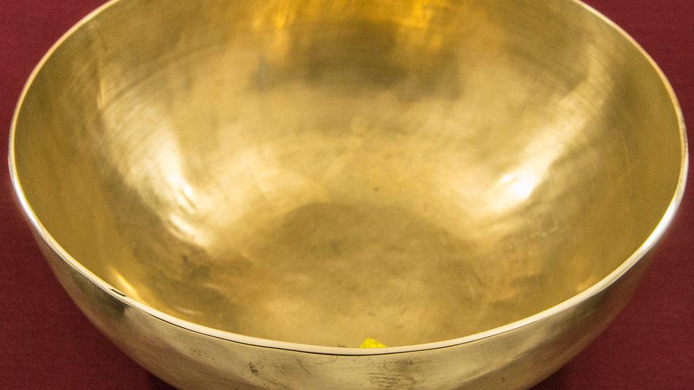 Поющая чаша без рисунка. ЛЯ. 108 Гц.  22 см.