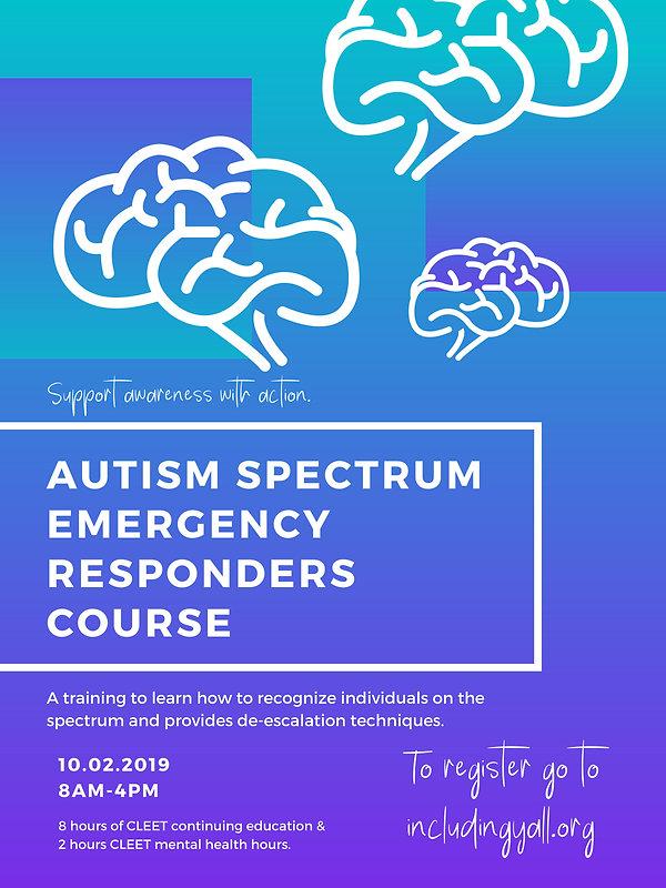 Autism Spectrum Responder Event 2019 -1.