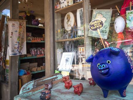 Chanchito -  a Three Legged Pig brings Good Luck & Fortune