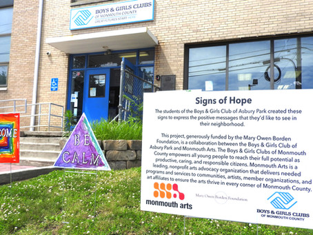 Signs of Hope: Using art to create positive messages in Asbury Park