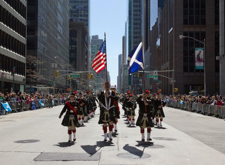 Sounding Off with the Pipes and Drums of the Atlantic Watch