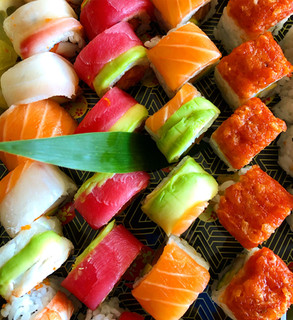 Sushi Roll Selection