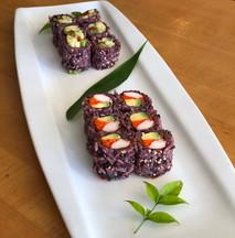 Purple Rice Rolls