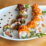 Sweet Daddy and Spicy Dragon Roll