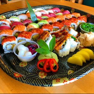 To Go Sushi Platter