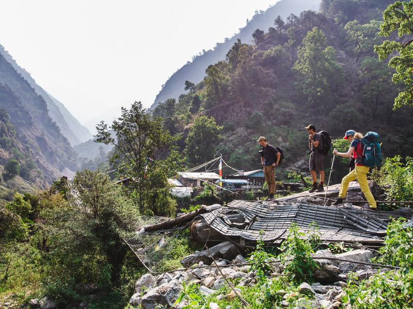 Randonnée au Langtang