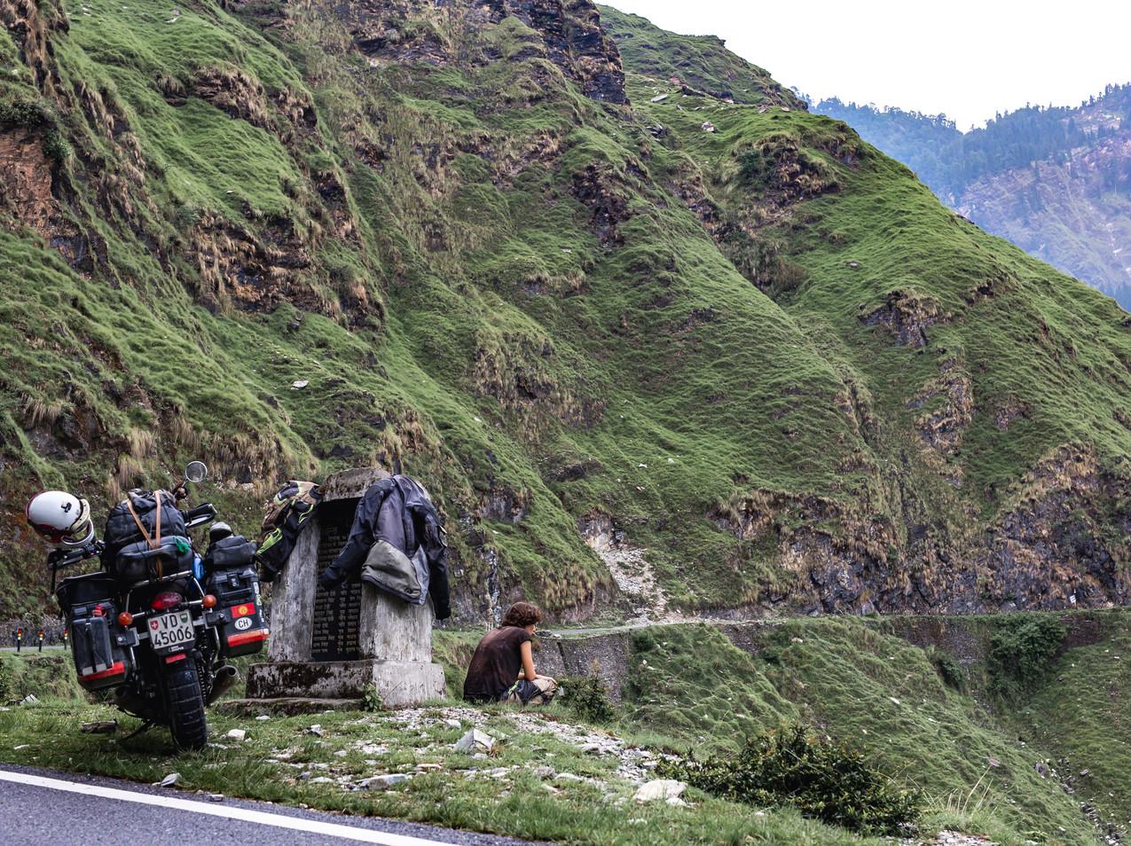 En route pour Munsyari