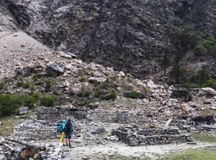 Dégâts du séisme de 2015