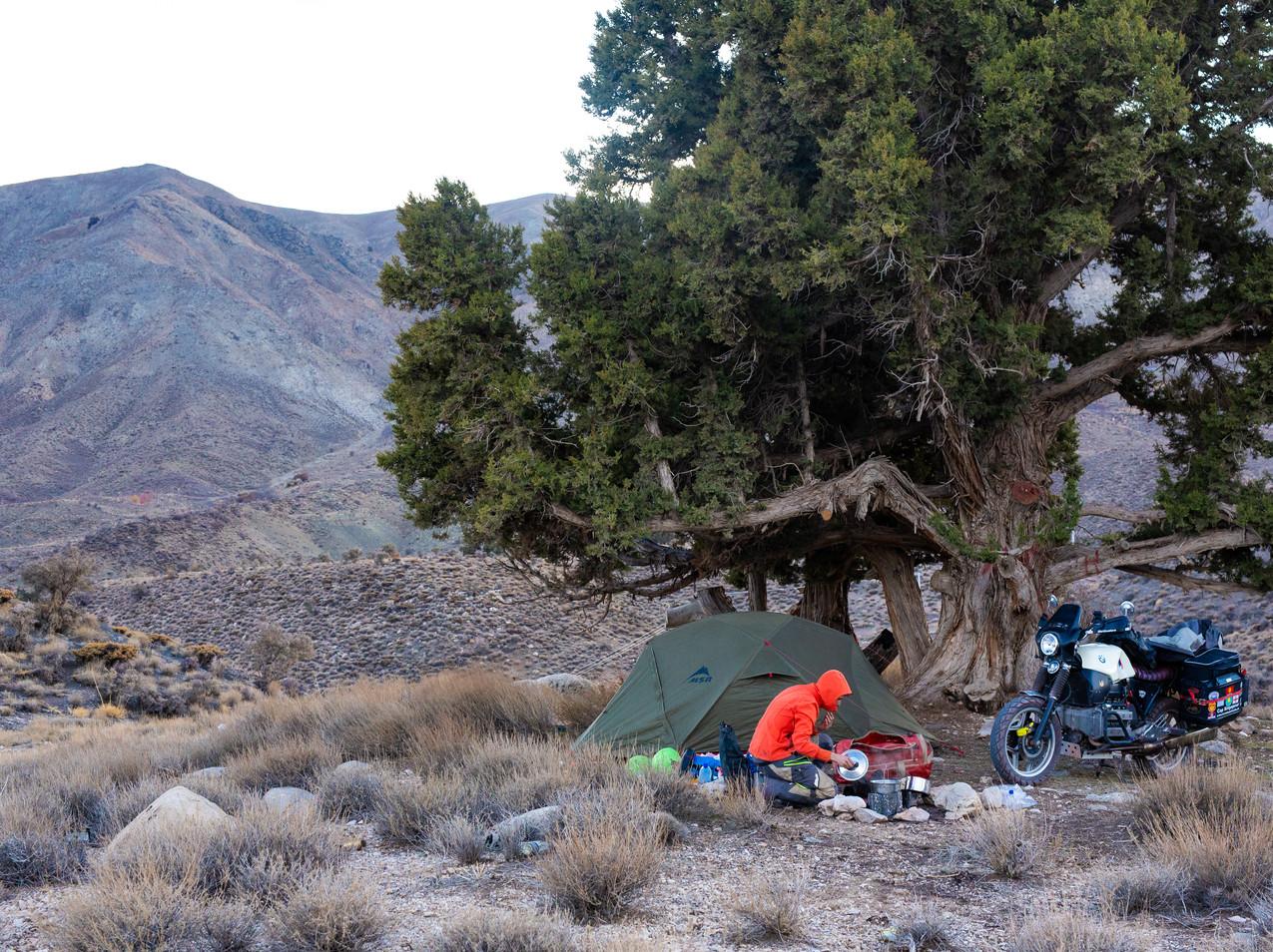 Camping sauvage ressourçant