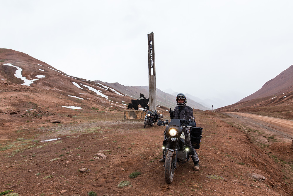 Frontière tadjik.