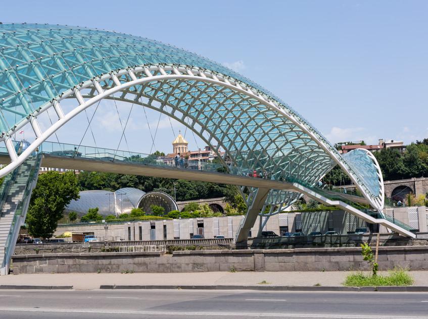 Pont de la Paix, Tbilissi