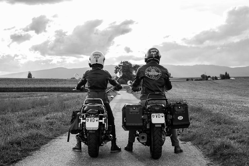 Bonnie & Klyde : prêts pour le grand départ