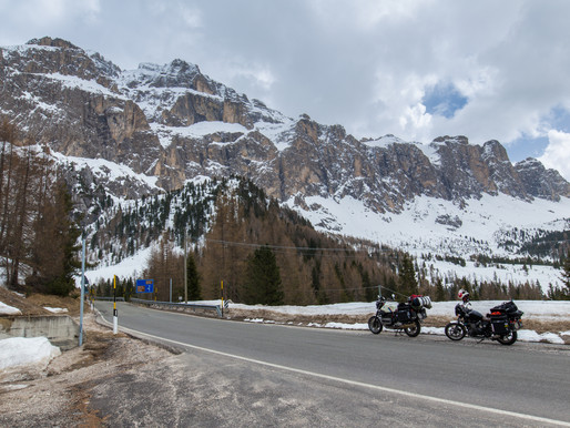 Back on the road (Suisse, Italie)
