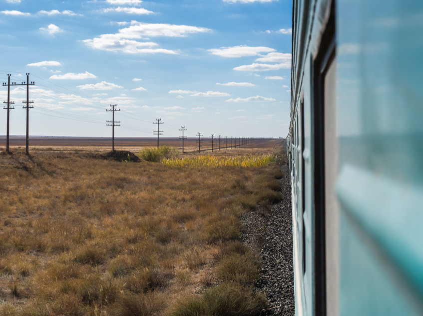Train Almaty - Atyrau