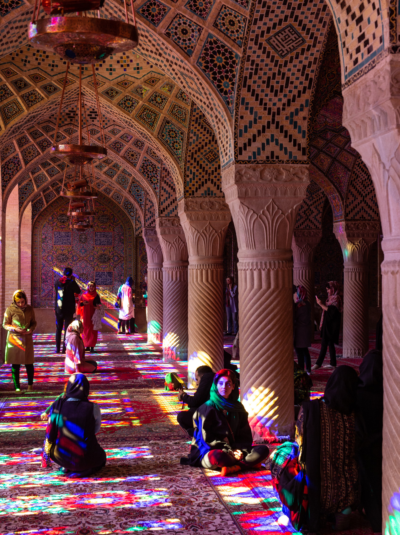 Mosquée Nasir-ol-Molk (mosquée rose)