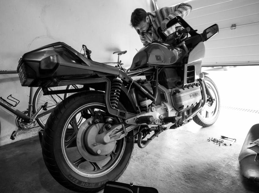 BMW K100 RS : Klyde