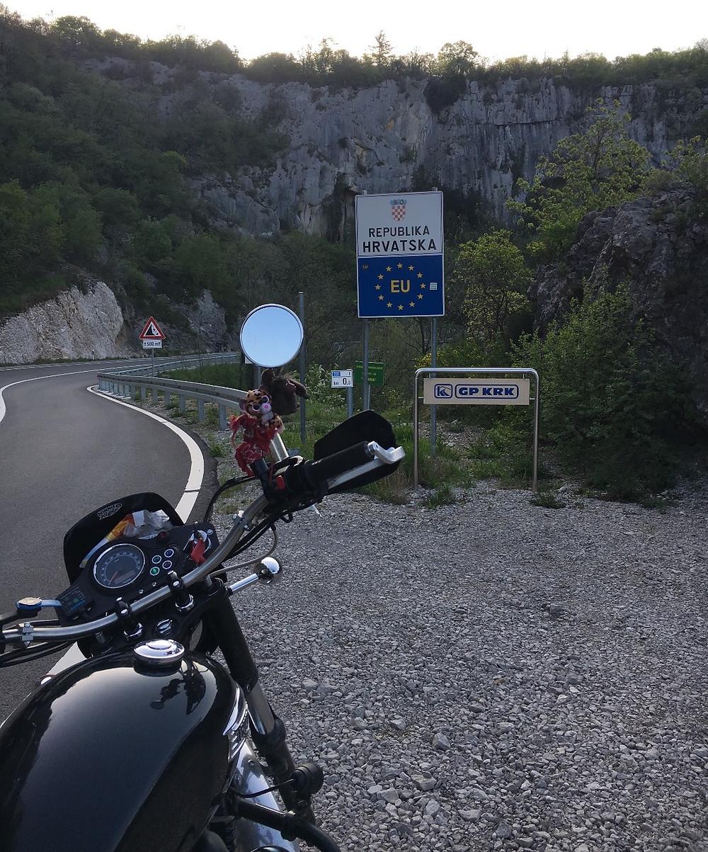Entrée en Croatie.