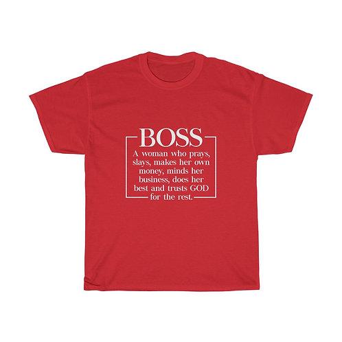 Boss Unisex Heavy Cotton Tee