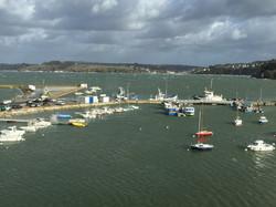 Vue Port du Rosmeur Douarnenez