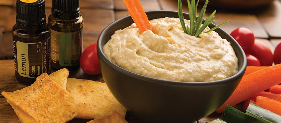 Rosemary Lemon Hummus