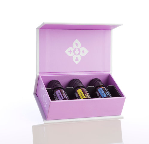 Introductory Kit: Lavender, Lemon and Peppermint Essential Oils