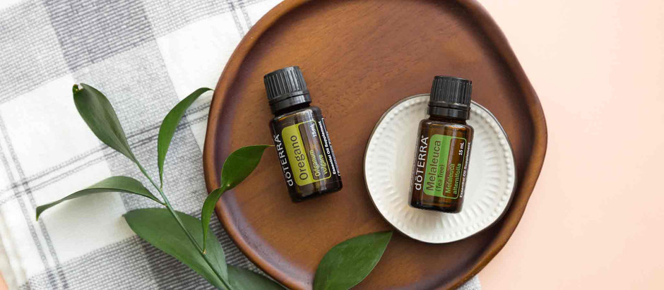 Learn how to Clean with Oregano and Melaleuca Oil