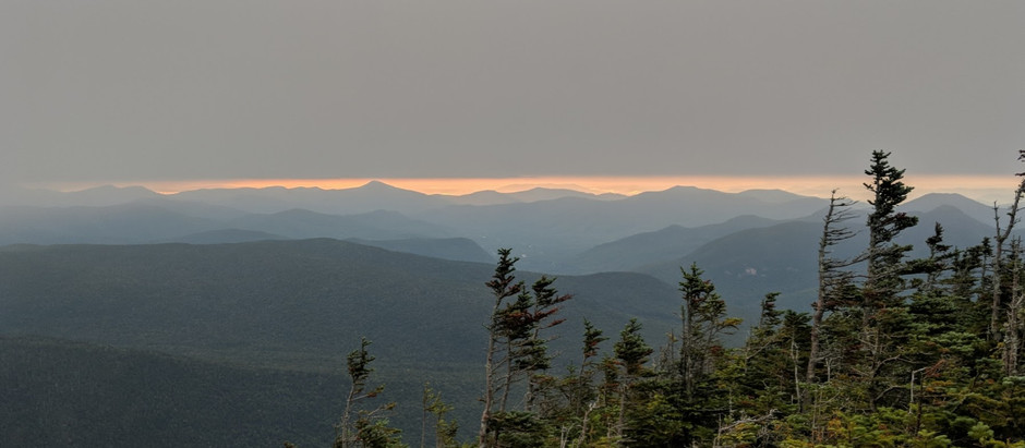 Mt. Carrigain: A Solo Sunrise Hike to Conquer My Fear of the Dark