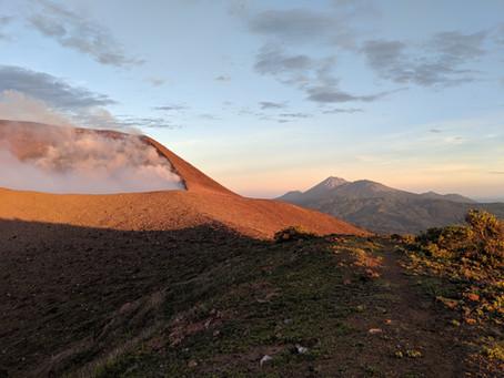 Hiking Nicaragua's Telica Volcano