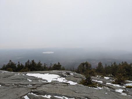 Mt. Kearsarge: A Snowy Day in the Forest