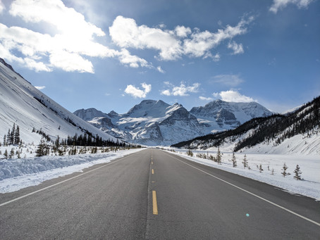 Winter on the Icefields Parkway: An Intense Road Trip with Unique Views Every Second of the Way