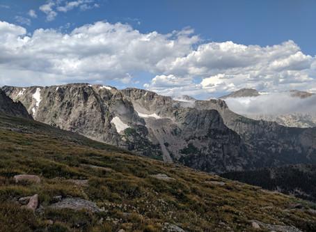Flattop Mountain: Rocky Mountain National Park