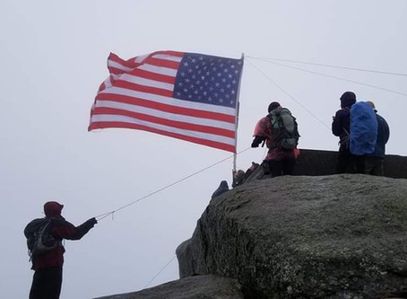 Mt. Garfield for Flags on the 48 and the JP Hiking Group's First 4K!