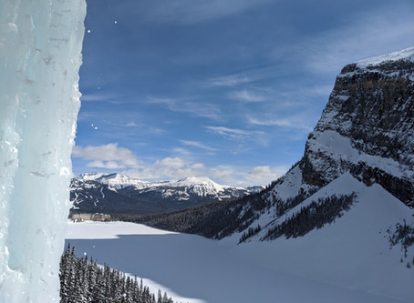 Ice Climbing Louise Falls: It's Not Vacation if You Don't Fear for Your Life