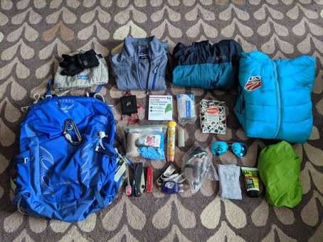 Gear List: Three Season Day Hiking