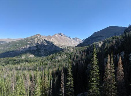 Emerald Lake and Glacier Basin: Rocky Mountain National Park
