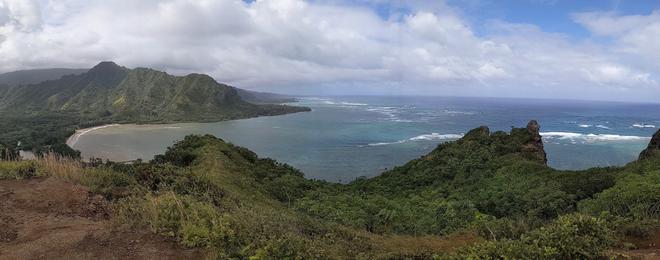 Oahu's Amazing Views from Koko Head Crater, The Lanikai Pillboxes, and The Crouching Lion